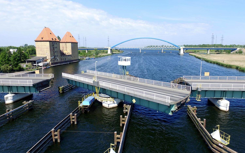 Most obrotowy w Wolinie