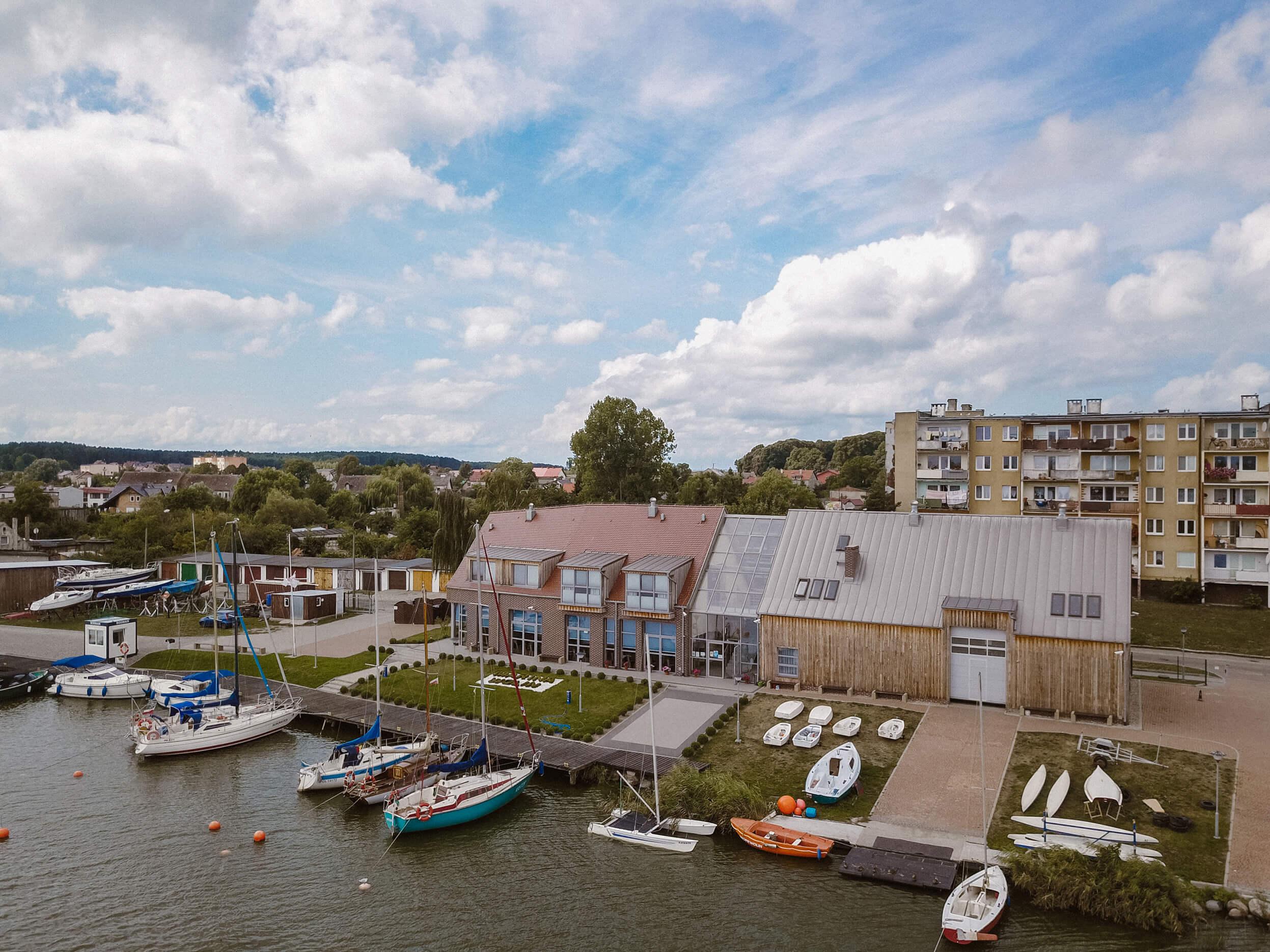 Marina i basen jachtowy w Wolinie